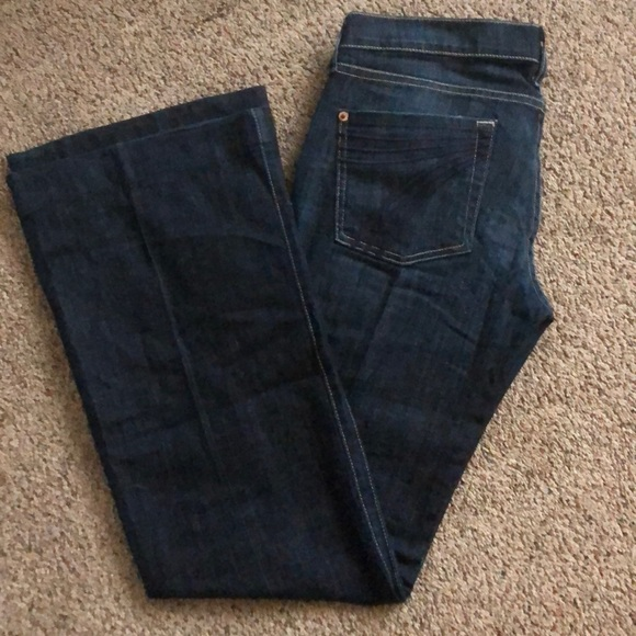 7 For All Mankind Denim - 7 for all mankind Dojo jeans size 28 inseam:32!